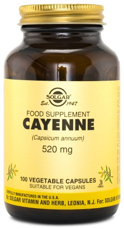 Solgar Cayenne